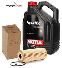 Motul Specific VW 505.01 5W40 motor 1.9TDi, 5 litros + Filtro Aceite 074115562