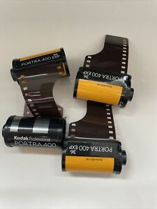 4 X Rolls Of Porta 400 Kodak Film - 35mm
