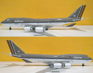 INFLIGHT 200 B744OZ7418 1/200 ASIANA AIRLINES B747-400 REG: HL7418 WITH STAND