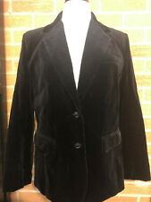 Jantzen Blazer Sport Coat Velvety Velour feel Womens 16 Cosplay Goth Steampunk