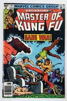 1980 Marvel Comics ~ Master Of Kung Fu #91 ~ MARK JEWELERS VARIANT