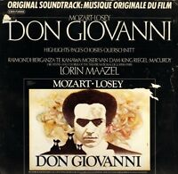 CBS-73888 DON GIOVANNI soundtrack maazel/raimondi/berganza/te kanawa LP PS EX/VG
