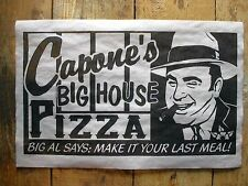 "(659) GANGSTER AL CAPONE'S BIG HOUSE PRISON PIZZA DEATH ROW CRIME POSTER 11""x17"""