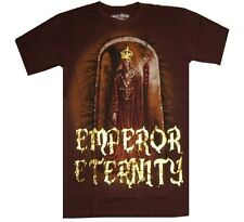NEW ETERNITY MENS T-SHIRT 100% COTTON DARK LEGEND FOIL Sz L (If58)