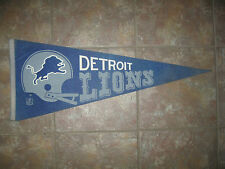Rare Vintage 1970's football pennant DETROIT LIONS FULL Size -owned by Celebrity