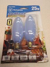 03412 Westinghouse 25W Light Bulb (2) Bulbs