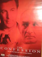 CONFESSION POSTER ALEC BALDWIN BEN KINGSLEY AMY IRVING RYAN MARSINI CHRIS NOTH