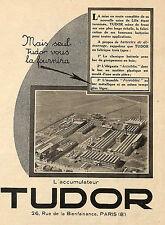 ACCUMULATEUR TUDOR AUTOMOBILES DELAUNAY BELLEVILLE BOUGIE AC OLEO PUBLICITE 1925