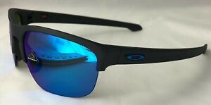 Oakley Sliver Edge - Steel with Prizm Sapphire Polarized Lens - OO9413-06