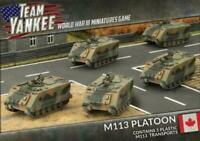 M113 Platoon Canada Canadian Team Yankee Flames of War FOW TCBX02