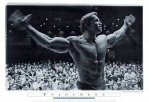 Arnold Schwarzenegger Mr. Olympia 1972 Poster  24 x 36
