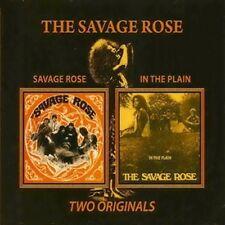 "The Savage Rose: ""Savage Rose & in the Plain"" (2on1 DIGIPAK CD reissue)"