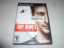 BRAND NEW FACTORY SEALED PLAYSTATION 2 TONY HAWKS PROJECT 8 GAME PS2 NFS