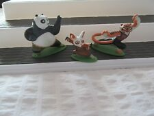 KUNG FU PANDA Cake TOPPERS DECOPAC  pvc Figures TIGRESS¤PO¤SHIFU