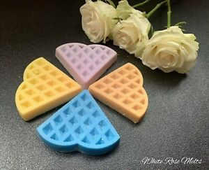 WAFFLE SOY SNAP BAR ~ VARIOUS SCENTS ~ HANDMADE ~ VEGAN FRIENDLY ~ GIFT FOR ALL