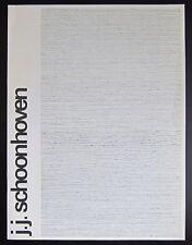Stedelijk Museum #J.J. SCHOONHOVEN# Crouwel, 1972, nm+