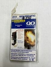 Square D QO 20 Amp Single-Pole Combination Arc Fault Circuit Breaker QO120CAFIC
