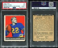 1948 Leaf #6 Bobby Layne RC PSA 3 (MC) Chicago Bears HOF