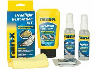 Rain-x Headlight Restoration Kit DIY FIX DULL YELLOW lenses rainx polish sealant