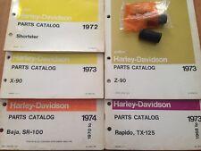 HARLEY-DAVIDSON AERMACCHI NOS BRAKE PEDAL RUBBER P/N 42414-68P, BAJA, X-90, Z-90