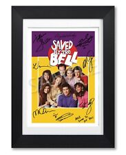SAVED BY THE BELL CAST SIGNED TV SHOW SERIES SEASON POSTER PHOTO AUTOGRAPH GIFT