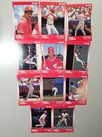Barry Larkin 1990 Star Company Cincinnati Reds 9-card Baseball  Set #/1500