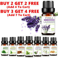 Aromatherapy Essential Oils 100% Natural Pure Essential Oil Fragrances 10ml