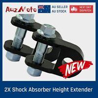 2 X Height Extension Extender Shock Absorber atv buggy pit quad Riser Suspension