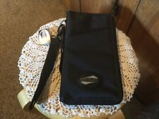 New American Tourister Travel Wallet.  Black Nylon.