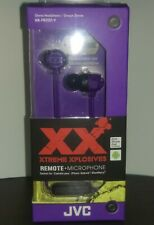 *JVC HA-FR202 XTREME XPLOSIVES Inner Ear Headphones with Remote & Mic
