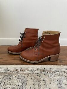 Red Wing Shoes Clara Boot Heritage Leather 8.5