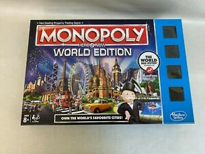 Monopoly Here and Now World Edition Collectors Edition Rare Game Hasbro
