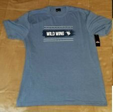 Wild Wing Golf Club Tee Shirt TShirt T Shirt Blue, Size Medium New With Tags