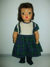 Vintage Terri Lee Doll  16 inch    comes Dress with Knee High Socks