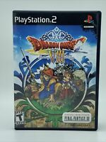 Dragon Quest VIII Journey of Cursed King (No Demo) No Manual PlayStation 2 PS2