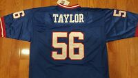 New York Giants Lawrence Taylor # 56  1986 Throwback Jersey Men's XL New Sewn A1