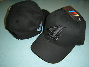 2021 KEVIN HARVICK #4 BLACKOUT Men's Adjustable Hat New W/TAGS