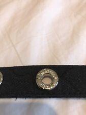 Calvin Klein  Black leather belt 78 Cms