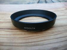 Minolta originale per una lente in plastica 28-80 f3.5-5.6D Ombra Cappuccio