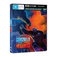 Godzilla VS Kong 4k UHD Blu-ray Steelbook Region B