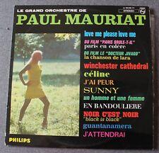 Paul Mauriat, love me please love me,  LP - 33 Tours Stereo
