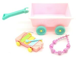 My Little Pony G1 Baby Ribbon Wagon  Xylophone Mallet Accessories
