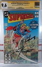 💥 CGC SS 9.6 NM+ SUPERGIRL #1 SIGNED ❤️LAURA VANDERVOORT Smallville KARA Daring