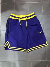 Nwt Nike Dna Double Mesh Lakers Basketball Shorts Ao5656-547 Men's Sm Msrp $125