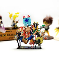 One Piece Straw Hat Pirates group family Luffy acrylic stand figure toy anime