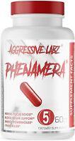 Aggressive Labz PHENAMERA Premium Thermogenic Fat Burner - 60 Powerful Capsules
