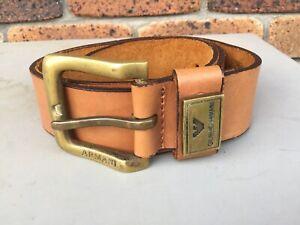 Armani Exchange Men/Woman's Belt 30