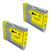 2 YELLOW Ink Cartridge for Brother LC51Y MFC 440CN 465CN 665CW 685CW 845CW