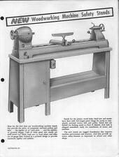 Atlas Woodworking Machine Safety Stands  Instructions