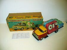 COMMUNICATION MORSE CODE TRUCK BATTERY OP VERY GOOD CONDITION WITH BOX WORKS